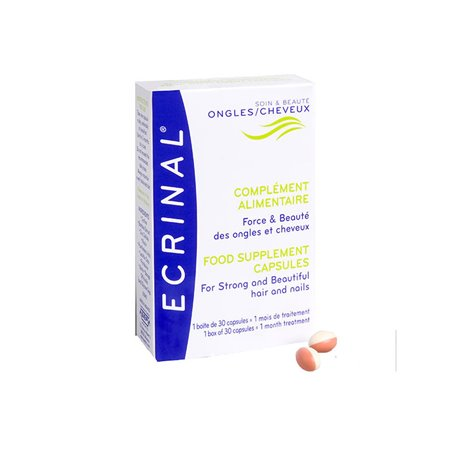 Ecrinal Hair and Nails 30 Capsules