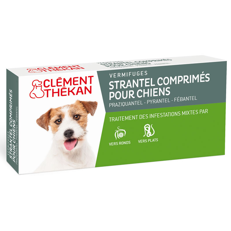 strantel wurmkur dogs box mit 4 tabletten clement th kan. Black Bedroom Furniture Sets. Home Design Ideas