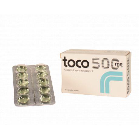 TOCO 500 mg de vitamina E Tocoferol