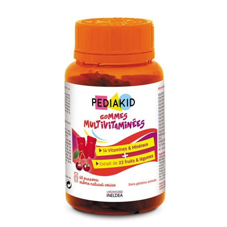 Multivitaminico Gummies gengive Pediakid 60