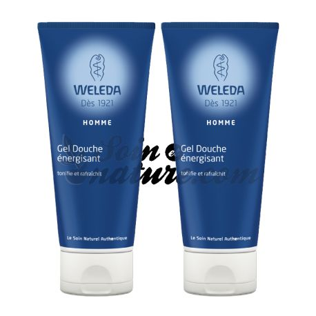 WELEDA MEN shower gel MEN 200ML DUO