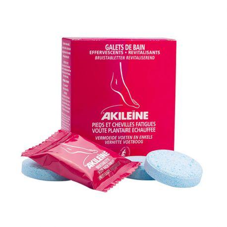 Akileine Galets de Bain Effervescents Revitalisants x 6
