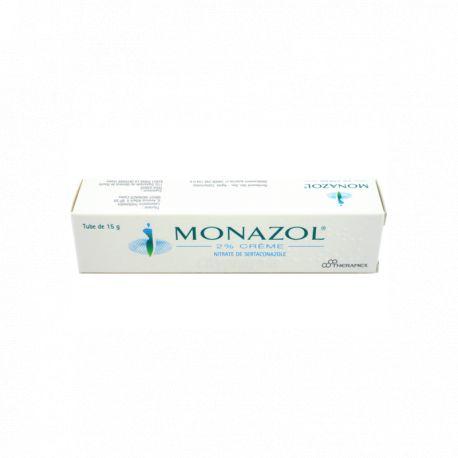 Monazol 2 Porcentaje de crema de hongos 15g de vulva