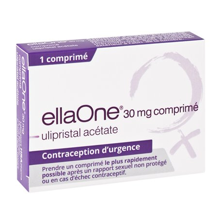 ELLAONE 30MG contraception urgence