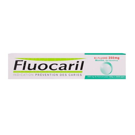 FLUOCARIL 250 BI FLUORE DENTIFRICE MENTHE 75ML