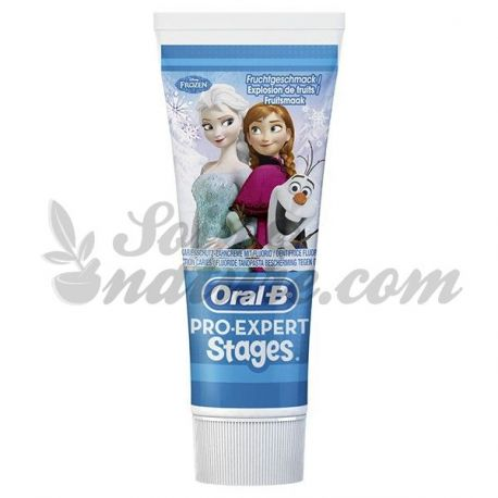Oral B Pro pasta de dents Snow Queen Expert pràctiques 75ml