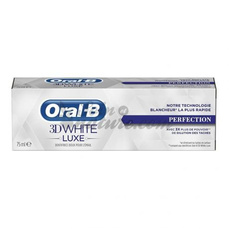 Oral B 3D White toothpaste Luxury Perfection 75ml