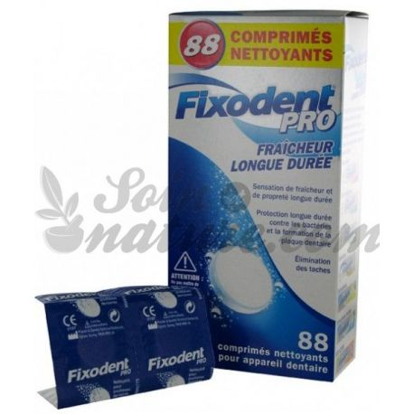 Fixodent Pro freschezza Extra Long Life 88 Cleansing Compresse