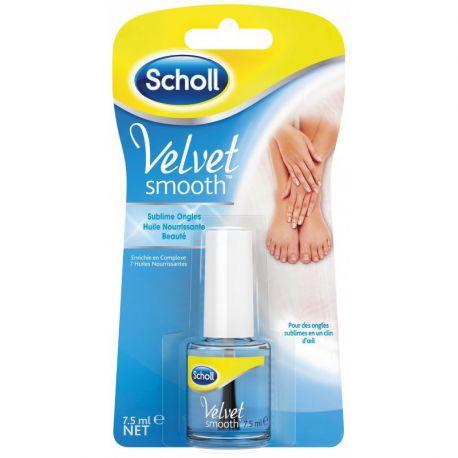 Scholl Velvet Glatte erhabene pflegende Nagelöl 7,5 ml