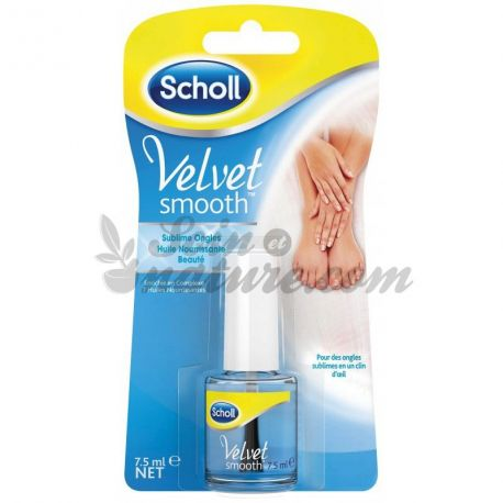 Scholl Velvet Smooth sublieme voedende nagel olie 7,5 ml