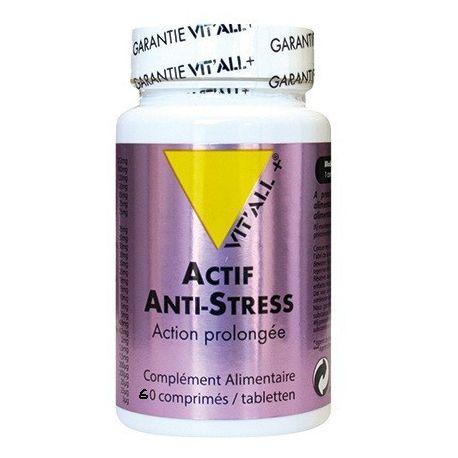 VITALL+ ACTIF ANTI-STRESS 60 COMPRIMéS