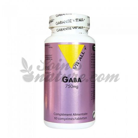 Vitall GABA + 750mg 60 compresse
