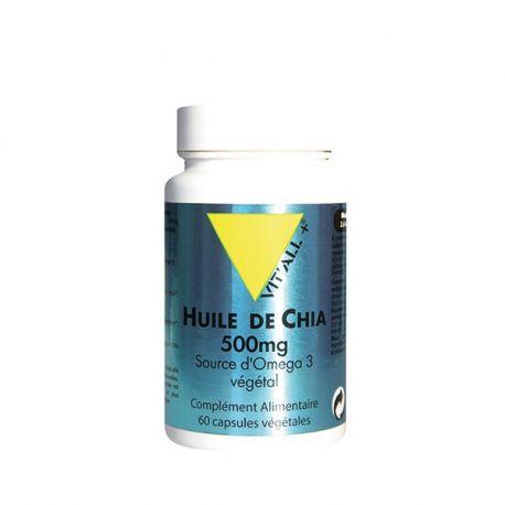 Vitall + OIL 60 KAPSELN 500mg CHIA