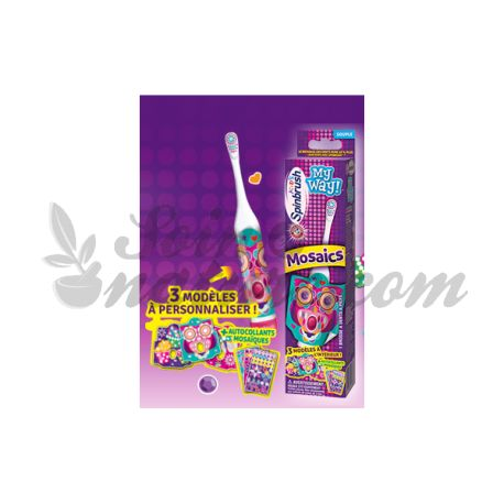 A brush teeth Kids Electric Spinbrush Mosaics