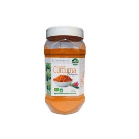 500 g de pols de Curcuma EcoIdées Bio