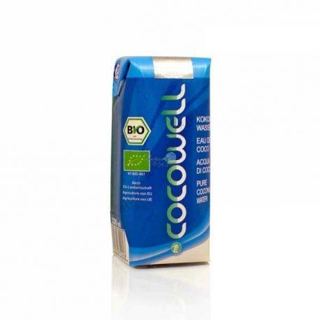 EcoIdées Acqua di cocco 330ml Bio Cocowell