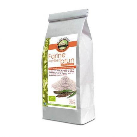 Ecoidées Brown Millet Farina Bio 500g selvaggio