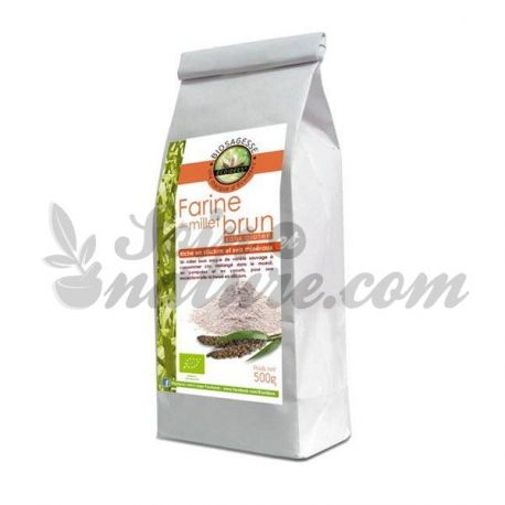 Ecoidées Farine de Millet Brun Sauvage Bio 500g