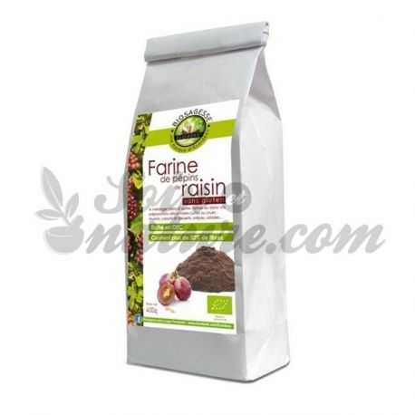 Ecoidées Grape Seed Flour Bio 400g