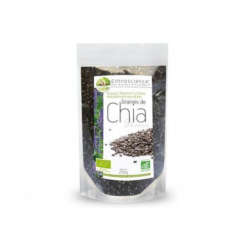 Ecoidées Bio Sementes de Chia 200g