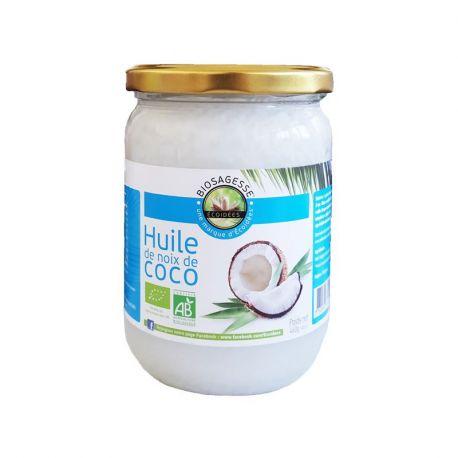 Ecoidées Coco Bio 500 ml de aceite Tuerca