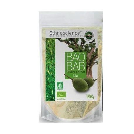 Ecoidées pó de frutas 150g Bio Baobab