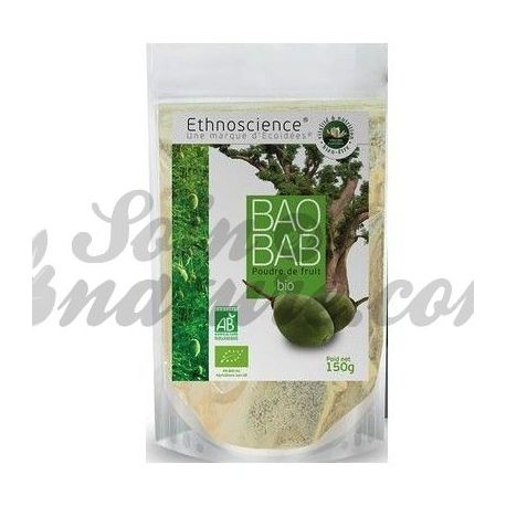 Ecoidées polvo de fruta 150g Bio Baobab