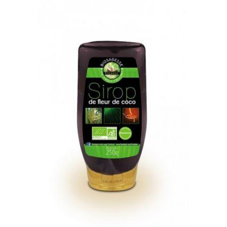 EcoIdées jarabe de 250g Bio Coco Flor