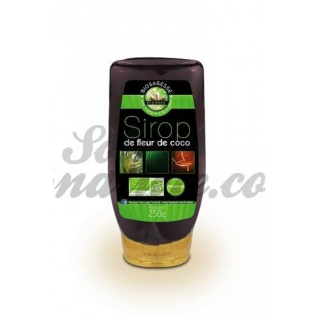 EcoIdées xarop de 250g Bio Coco Flor