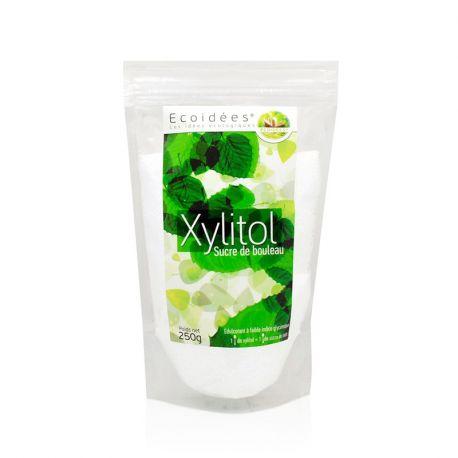 EcoIdées xilitol Birch 250g de açúcar