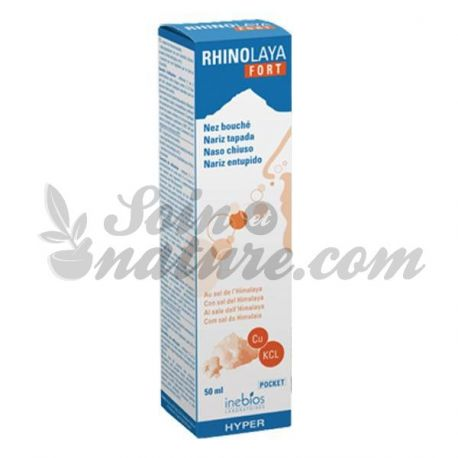 Rhinolaya Fort Nez Bouché spray de 50 ml Inebios