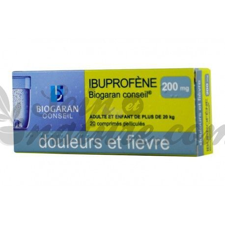 Ibuprofen 200 MG TABLETS 20 Biogaran