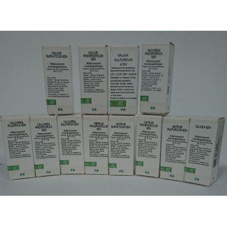 Calcium fluoratum D 6 TABLETS Homöopathie Boiron