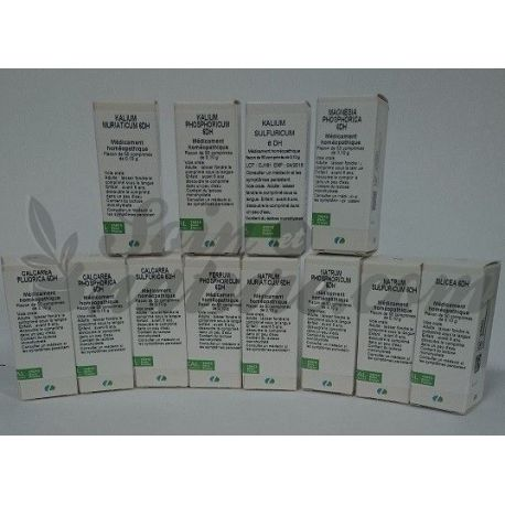NATRUM SULFURICUM 6X TABLETS Homeopathy Boiron