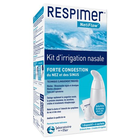 Respimer Netiflow Kit Irrigation Nasale
