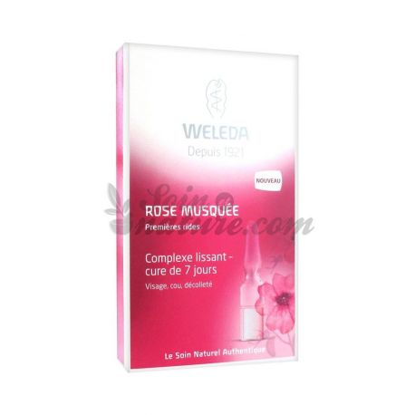 Weleda Wild Rose Smoothing Complex Cure 7 Giorni