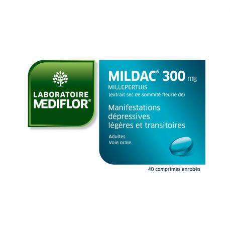 Mildac 300 mg comprimits recoberts amb pel·lícula 40