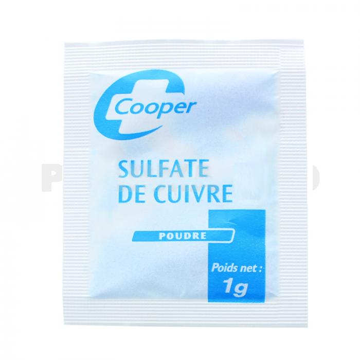 copper sulfate cooper bag 1 gram