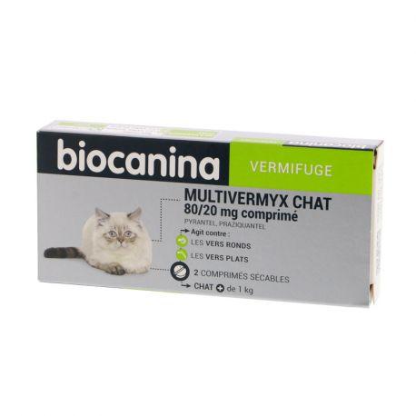MULTIVERMYX Biocanina Chat Boite de 2
