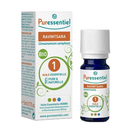 Puressentiel biologische etherische olie Ravintsara 5ml