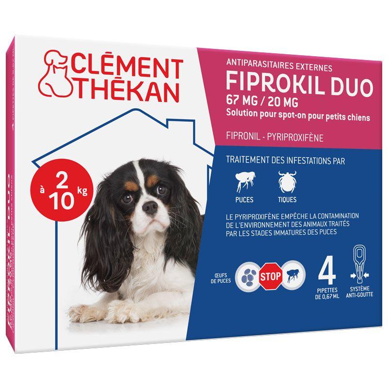 fiprokil duo kleine hunde 2 bis 10kg 4 pipetten clement th kan. Black Bedroom Furniture Sets. Home Design Ideas