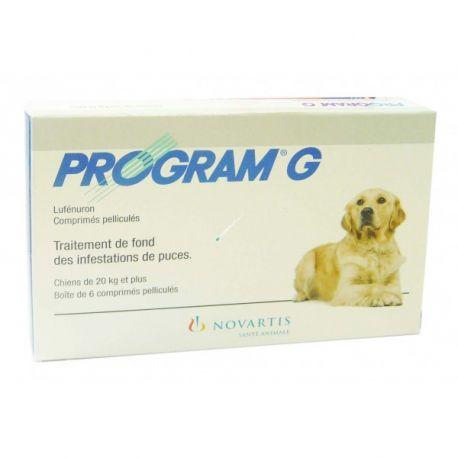 PROGRAMA G Canis comprimidos pulga NOVARTIS