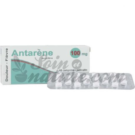 ANTARENE 100MG kind ibuprofen 40 tabletten