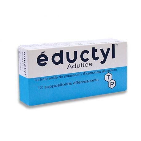 EDUCTYL Suppository bruisende volwassen B / 12