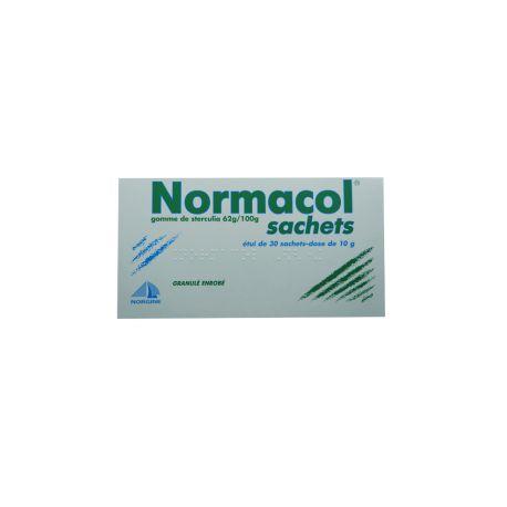 NORMACOL 62 g/100 g granulé enr 30 Sachets