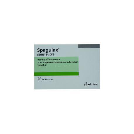 SPAGULAX poudre effervescente suspension buvable en Sachets-dose sans sucre