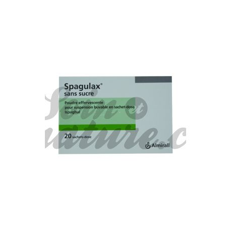 SPAGULAX poudre effervescente suspension buvable en Sachets-dose sans sucre