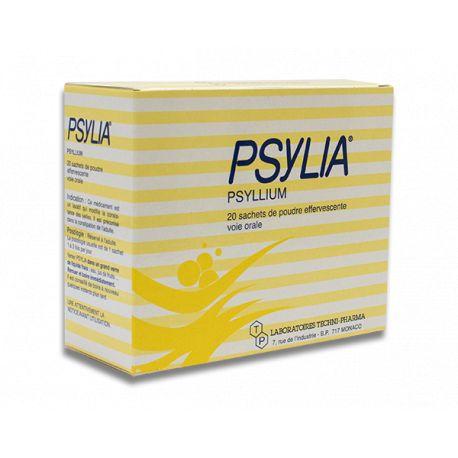 PSYLIA bruisende poeder orale suspensie voor volwassenen 20Sachets / 6,9 g