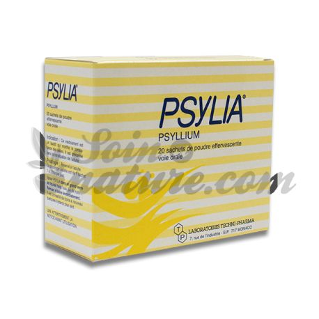PSYLIA effervescent powder oral suspension adult 20Sachets / 6.9g