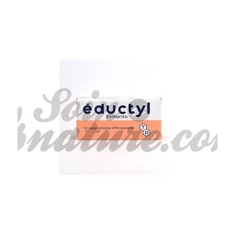 EDUCTYL Suppositoire enfant B/12